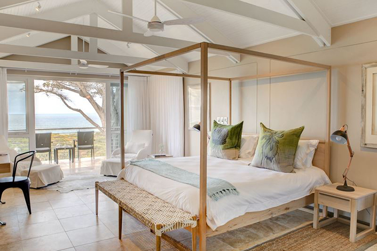 Abalone Guest Lodge Bedroom Hermanus Accommodation