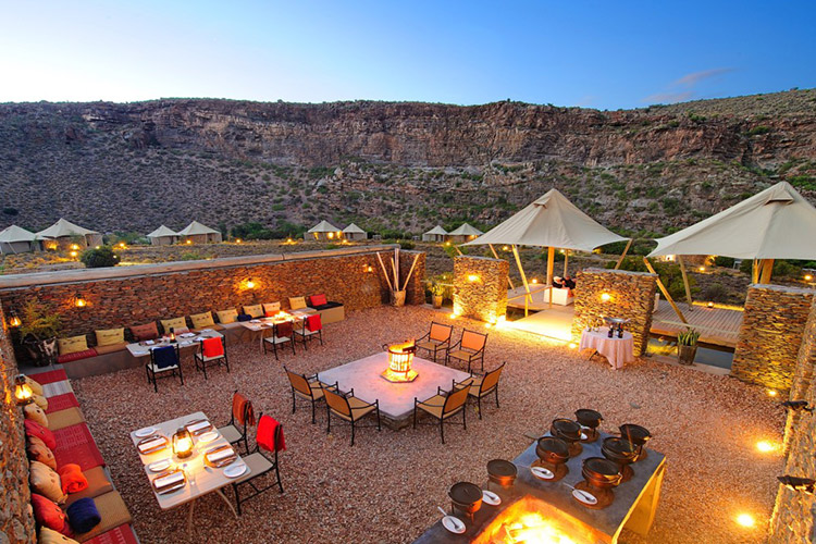Best Glamping in The Western Cape: Dwyka Tented Lodge Accommodation