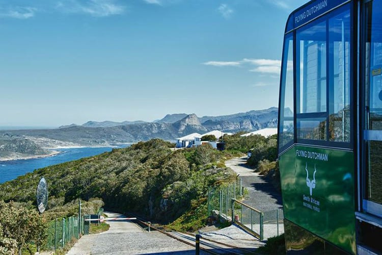 Cape Point National Park: Funicular