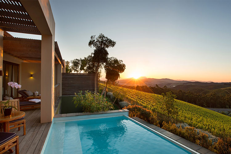 Delaire Graff Pool Winelands Accommodation