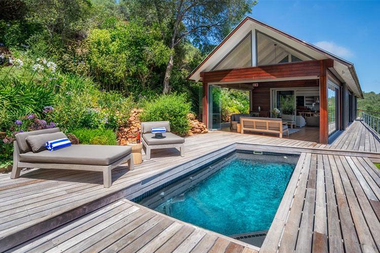 Hidden Valley Bush Lodge Pool Winelands Accommodation