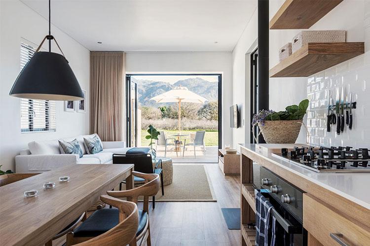 La Chataigne Kitchen Winelands Accommodation