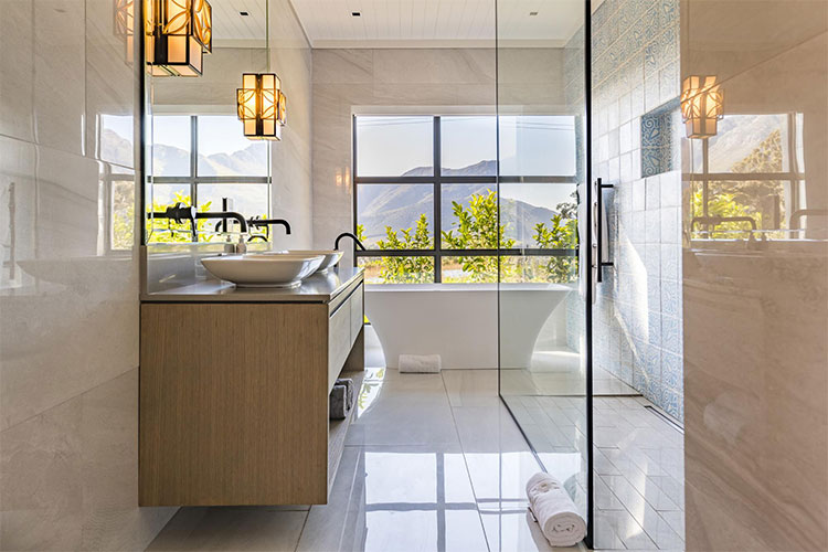 La Petite Ferme Bathroom Winelands Accommodation