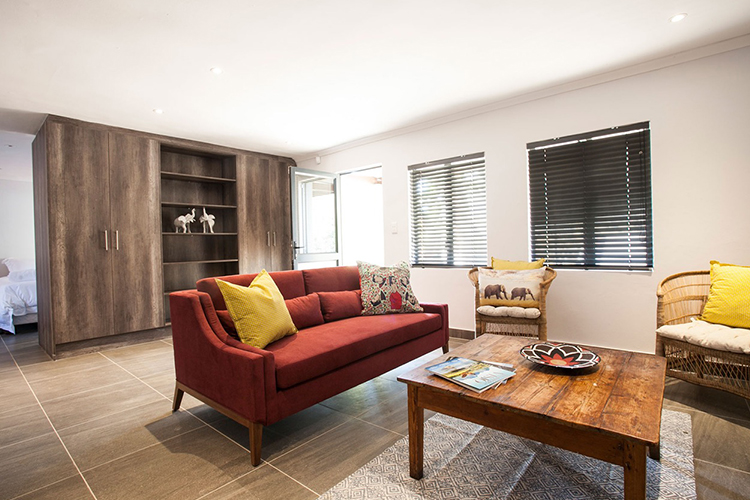 Mont Angelis Comfort Cottage Lounge