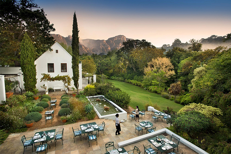 Best Cape Town Breakfast Spots: The Conservatory at Cellars-Hohenort