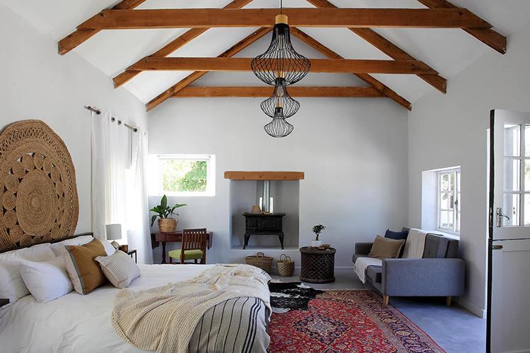 Weekend Getaways Cape Town: Eikehof Farm Bedroom