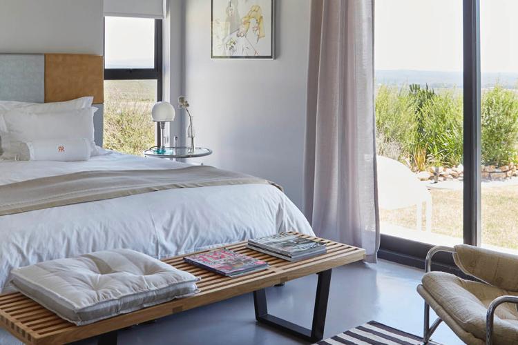 Weekend Getaways Cape Town: Haes Farm Bedroom