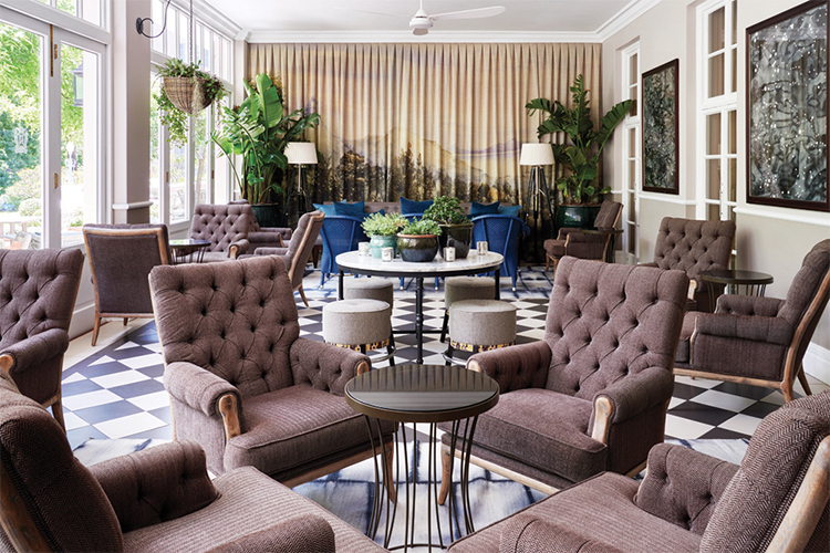 The Planet Bar at Belmond Mount Nelson Bars in Cape Town
