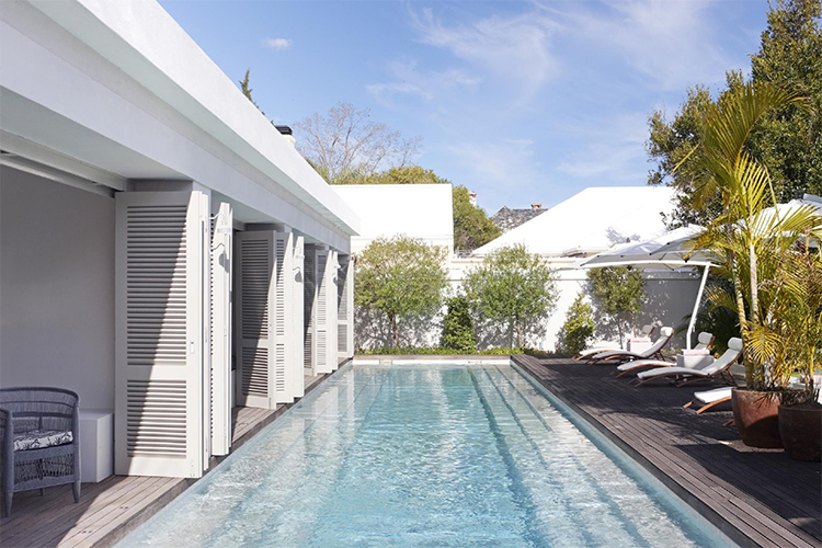 Weekend Getaways Cape Town: The Robertson Small Hotel Pool