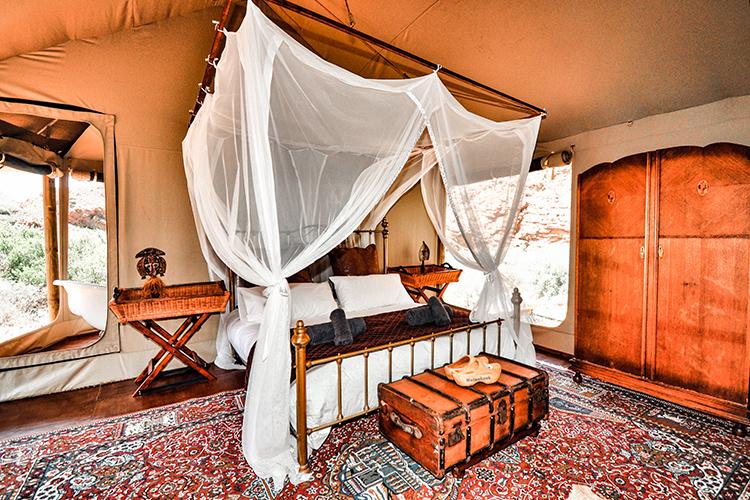 Glamping Sites Western Cape: Wolwehoek Bedroom