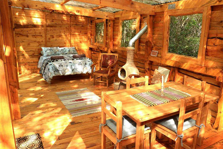 Secluded Getaways in The Cape: Bushbuck Suite at Platbos Forest Bedroom