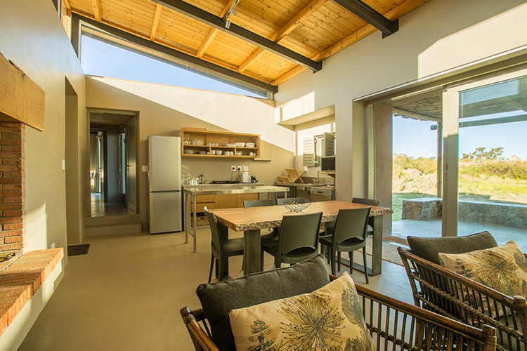 Secluded Getaways in The Cape: Cederberg Park Living Area