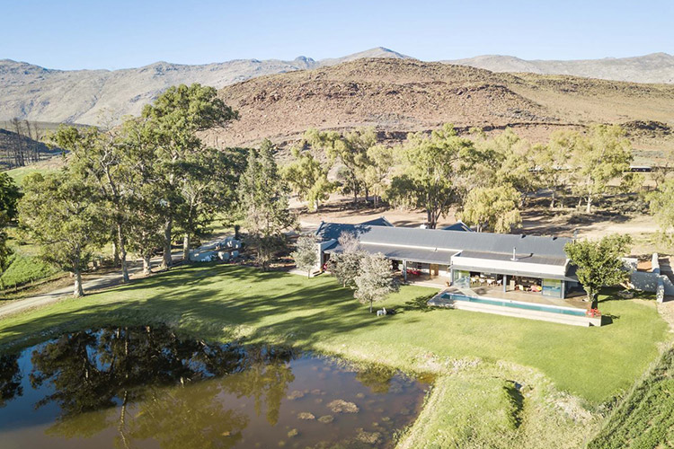 Secluded Getaways in The Cape: Die Aap Farm Lodge & Private Nature Reserve