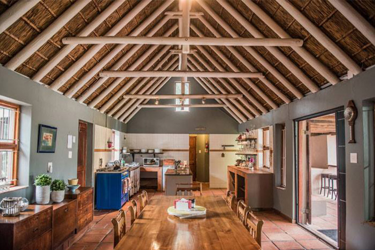 Secluded Getaways in The Cape: Rivers Own Guest Lodge Living Area