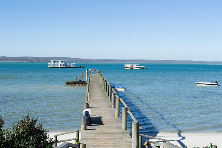 Secluded Getaways in The Cape: Serenity Houseboat Setting