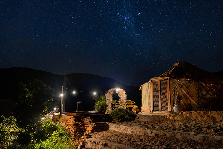 Secluded Getaways in The Cape: Southern Yurts