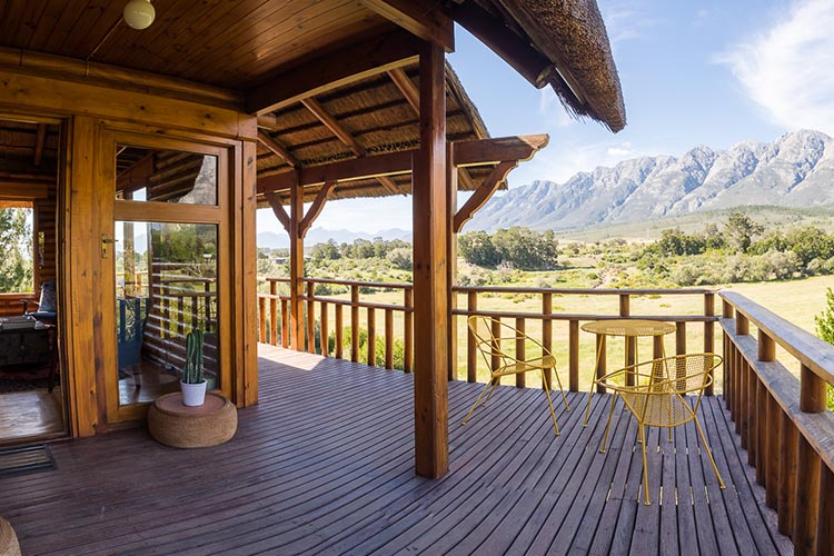 Secluded Getaways Western Cape: Tulbagh Mountain Cabin View
