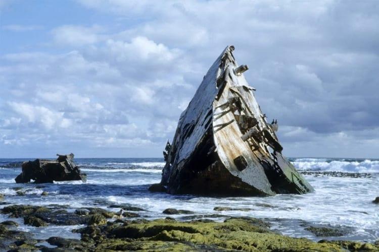 Cape Point Nature Reserve Thomas T Tucker Shipwreck