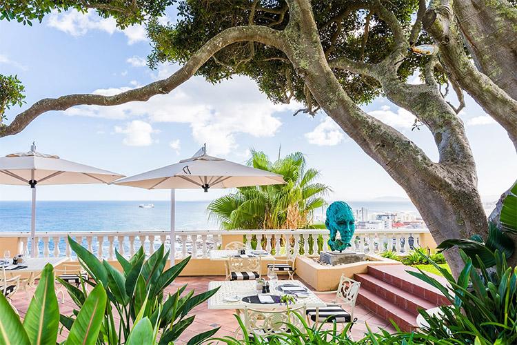 Best Cape Town Hotels: Ellerman House Patio