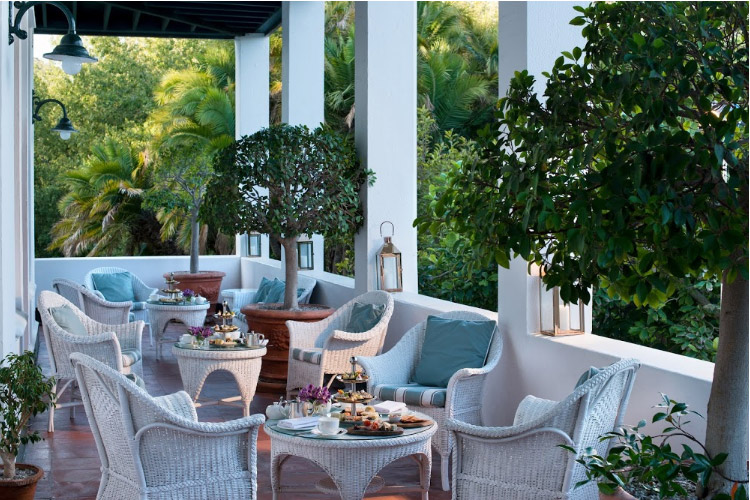 Best Cape Town Hotels: The Cellars Hohenort Conservatory