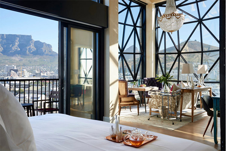 Best Cape Town Hotels: The Silo Hotel Bedroom