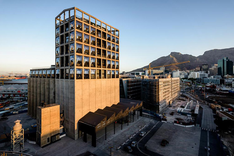 Best Cape Town Hotels: The Silo Hotel Exterior