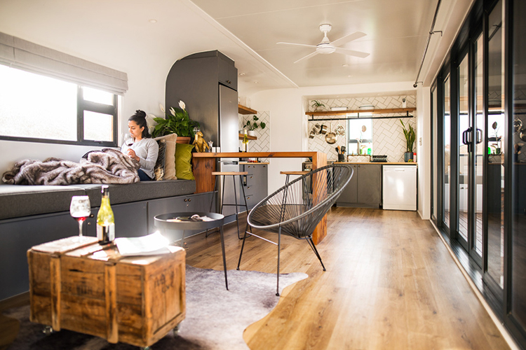 Pet-Friendly Getaways Western Cape: CouplesPod at Riverstone House Interior