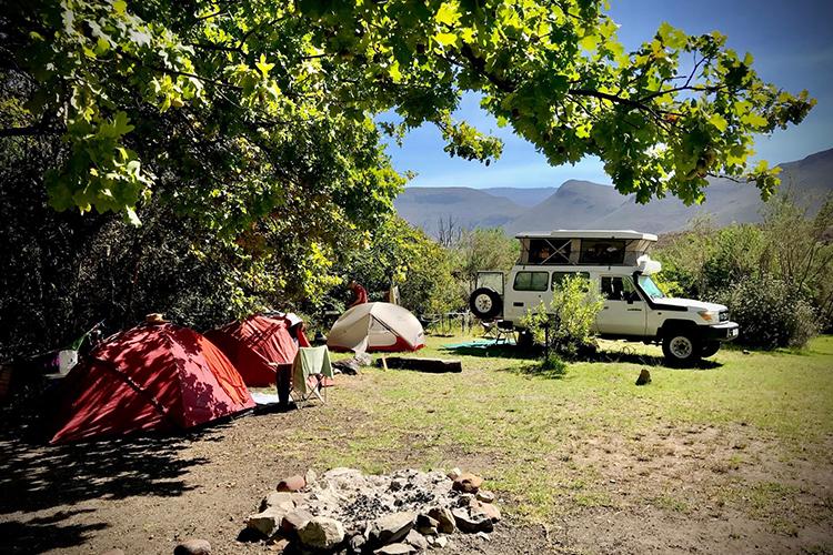 Pet-Friendly Getaways Western Cape: Simonskloof Mountain Retreat Camping