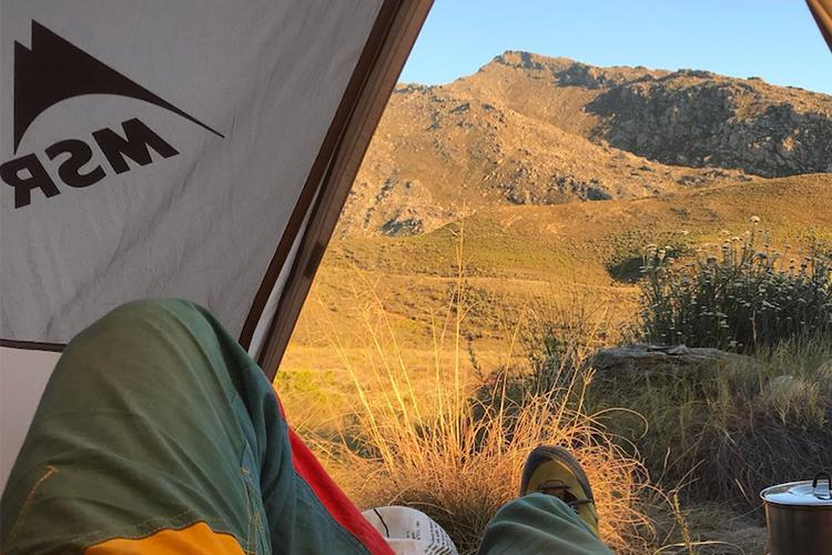 Pet-Friendly Getaways Western Cape: Simonskloof Mountain Retreat Tent View