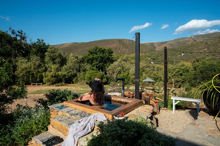 Pet-Friendly Getaways Western Cape: Southern Yurts Hot Tub